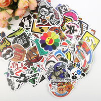 VS001027 Self adhesive die cut vinyl pvc sticker