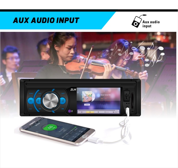 Double Din Fm Transmitter Bluetooth Instructions Firmware Video Format User  Manual Led Car Kit Mp5 Player With Gps Navigation - Buy Car Mp5