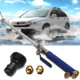Alloy Wash Tube Hose Car High Pressure Power Water Jet Washer Spray Nozzle Gun with 2 Spray Tips Cleaner Watering Lawn Garden