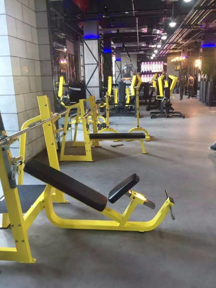 Home gym equipment land fitness incline bench gym machine
