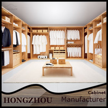 Top Latest Custom Solid Wood Bedroom Wardrobes Cabinets from China