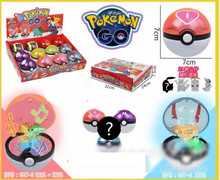 Play Game Pokemon go Pokeball Kids Poke Ball with Light and Music