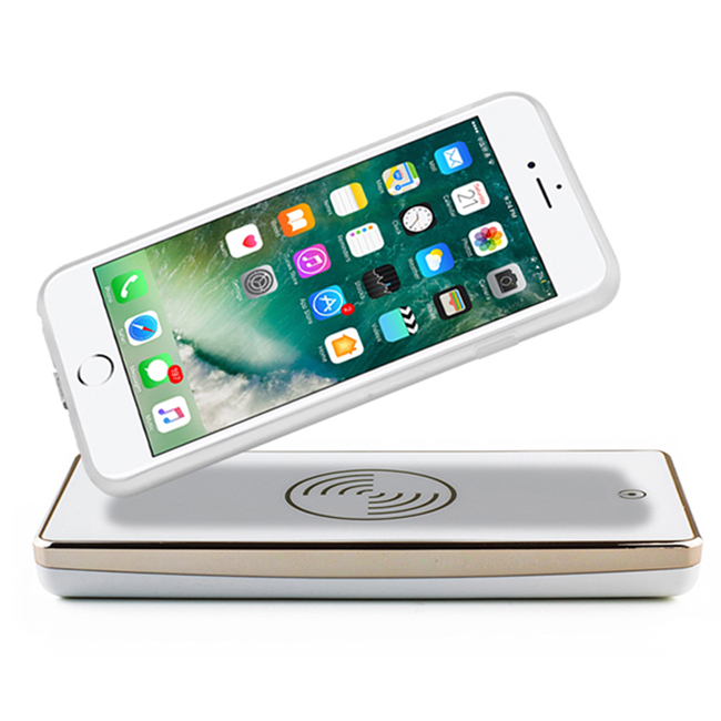 Metal 6000mAh Wireless Power Bank Phone Battery Charger For Mobile Phone best selling products in nigeria