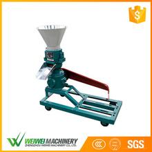 Factory supply 5.5kw capacity 100-150kg/h cattle poultry small feed pellet making mill machine
