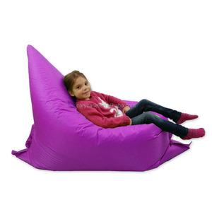 Kids Bean Bag Purple PVC Toddler Sofa Childrens Furniture