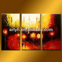 Latest designs wall art idea painting on canvas for decor