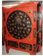 Antique Furniture Chinese painted Cabinet