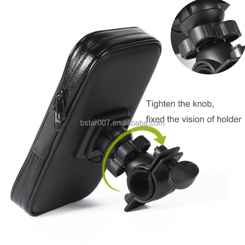New Waterproof Case Bike Phone Mount Mobile Cell Phone Holder