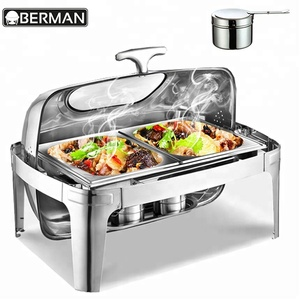 Catering equipment in pune all types roll top chafing dishes for sale