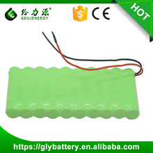 Rechargeable NICD AA 800mAh 12V Battery Pack