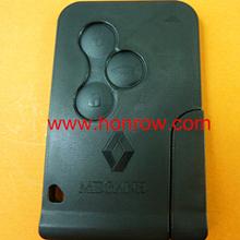 High quality Renalut Megane 2 remot key, Renault 3 button remote key with 7947 chip & 433Mhz