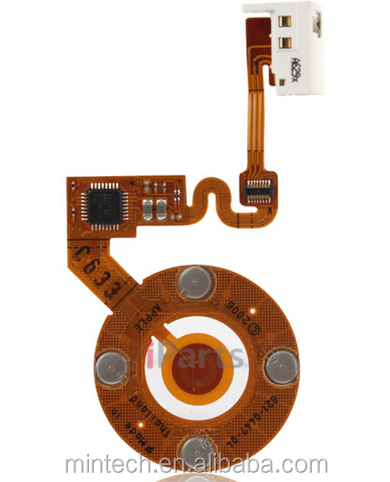 Replacement Click Wheel and Headphone Jack Flex Cable for iPod Nano 2