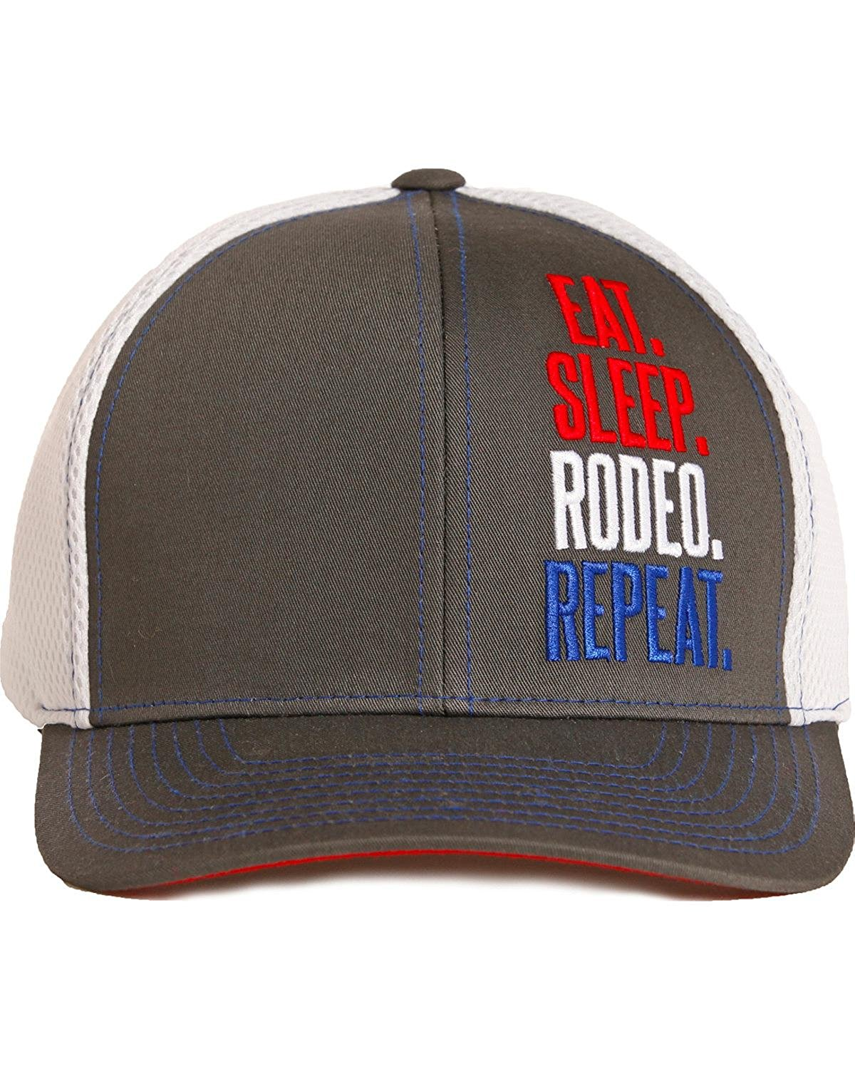 6ad61c0ecbb Get Quotations · Dale Brisby Men s Eat Sleep Rodeo Repeat Cap - Cbc3719