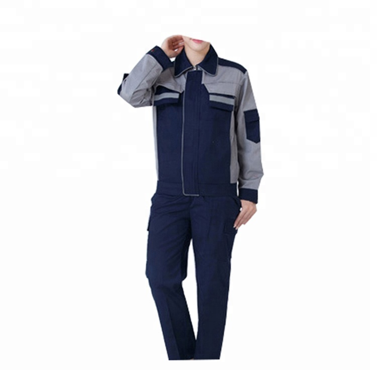 Workplace Safety Supplies 100% Quality Canvas Tear Resistant Overalls Wear Resistance Auto Repair Wear Workers Welding Mechanic High-end Unisex Jacket+pants 2019 New