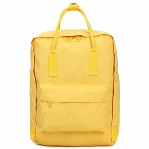 high quality canvas school backpack wholesale new design school backpack for teenagers