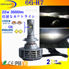 12 volt h7 led car headlight, high power led car headlight, car led headlight 22w 3000lm