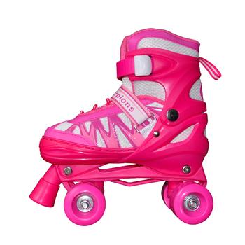 db07d27f52e Nieuwe kids soy luna rolschaatsen, kinderen dubbele rij patines PU lederen  skate