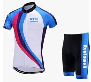 Get Quotations · 2016 Newest Runtowell Cycling Jersey Summer Mens Cycliste  Racing Jersey 3D Silicon Padded Shorts Sleeve Runtowell ceec3cd10