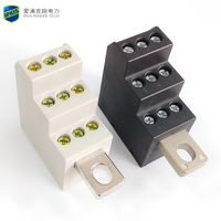 690V/AC 232A 1-in-9 Power Distribution Terminal Block Switches Direct Suspended Type Branch Terminal Block