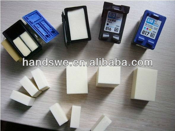 wholesale ink cartridge sponge for HP Brother Samsung Epson Canon Ricoh Minolta Toshiba Konica Kyocera Sharp Panasonic Xerox OKI