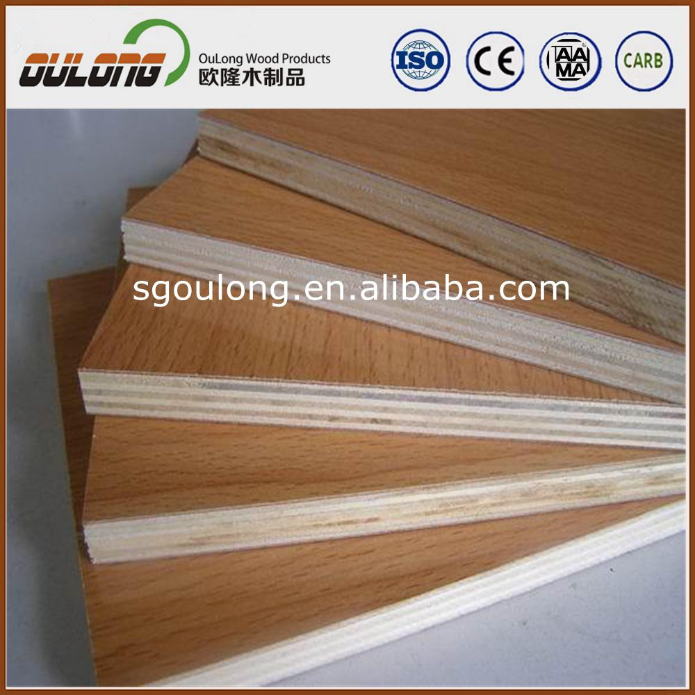 Tablero de melamina madera contrachapada mdf panel de - Madera contrachapada precio ...