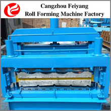 Roof tile/Glazed and IBR sheet Double deck cold roll forming machine in low prices!