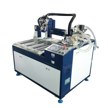 2019 epoxy silicone urethane mixing metering dispensing machine potting glue