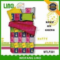 polyester decorative bedding set turkey beding set luxury
