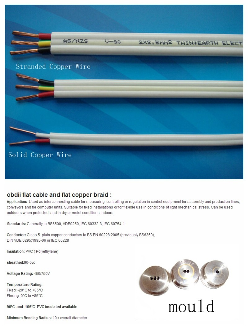 2 X 2.5 Mm 2 Twin And Earth Electrical Cable Manufacturing Machine ...
