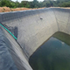 China wholesale plastic dam liner 0.75mm dam liner for sale
