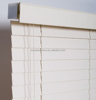 2 Inch faux wood blinds foam woodern shades