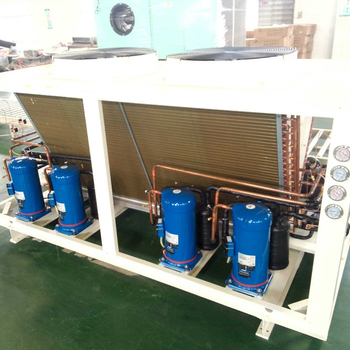 Inverter air conditioner heat pump air to water china chiller machine air cooled water with  inverter fan