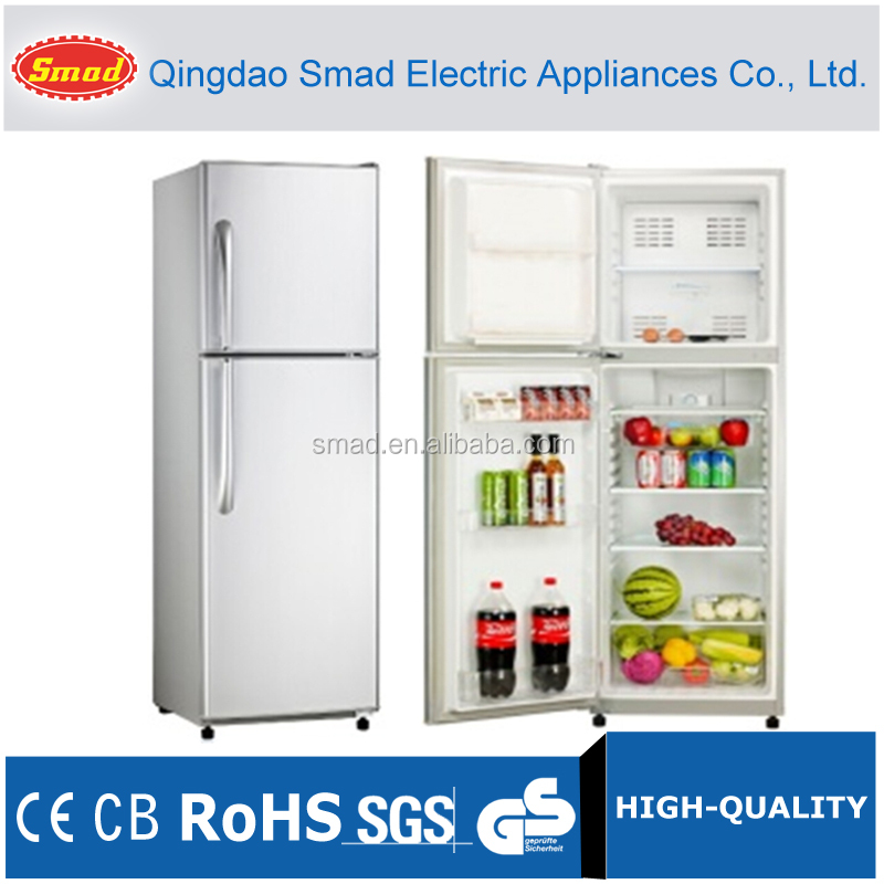 294L No frost Low Power Consumption Household Double Door Refrigerator With CE