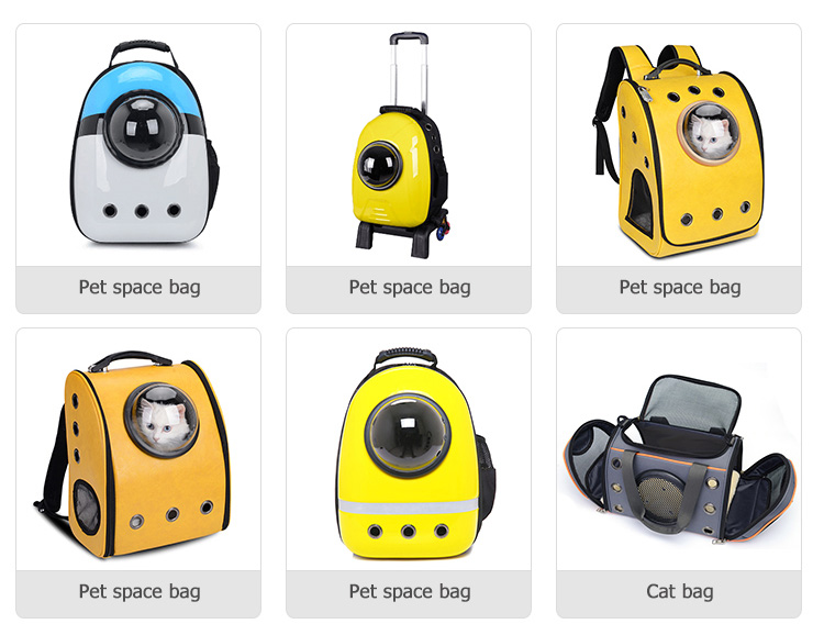 Commercio all'ingrosso Pet Carrier Zaino Spazio A Forma di Capsula Traspirante pet carrier bag