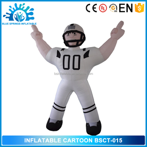 Hot Sale Advertising Inflatables, Inflatable RUGBY WEAR Carton