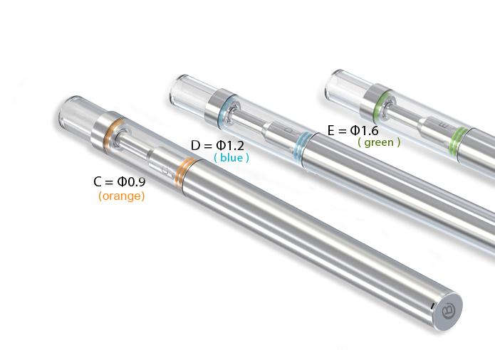 Buddy Group 2018 Disposable BUD-D1 vapor starter kits ceramic vaporizer cartridge(Empty)