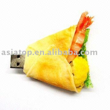 fast food usb gift from factory suppier