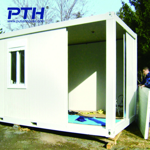 20 foot Prefabricated flat pack, mobile, modular container house for social housing projects