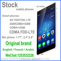 in stock original smart phones 4G LTE 3G WCDMA Second hand mobile phone