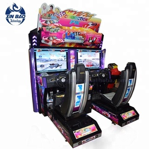Coin Operated 2 Players Outrun Car Simulator Game Machine 3D Racing Car Games Free Download
