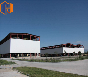 Hebei HJSD Famous steel structure frame building Two story steel structure warehouse