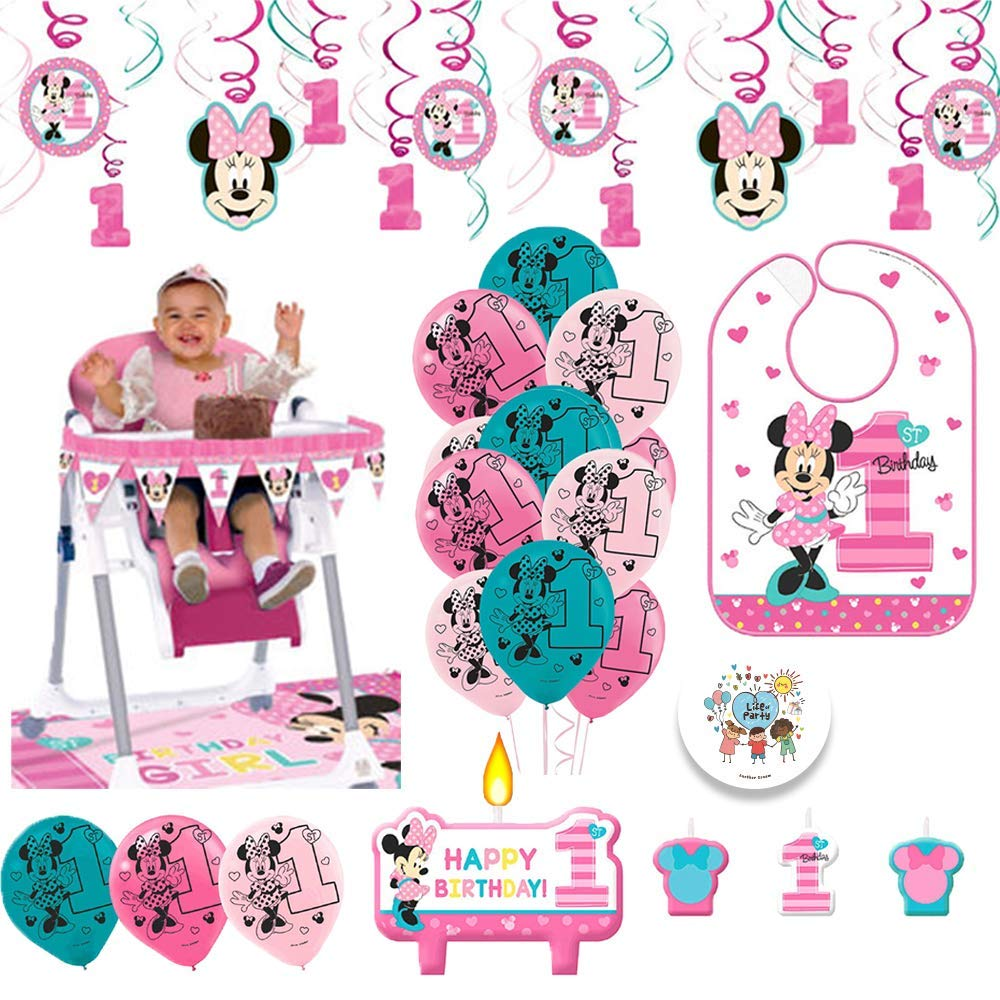 Cool Buy Minnie Mouse First Birthday Fun To Be One 1St Birthday Best Image Libraries Sapebelowcountryjoecom