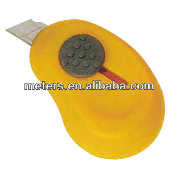 ABS Auto retractable utility knife good for promotion use, a lot of color available