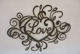 Love Letter Home Decor Metal Wire Wall Art