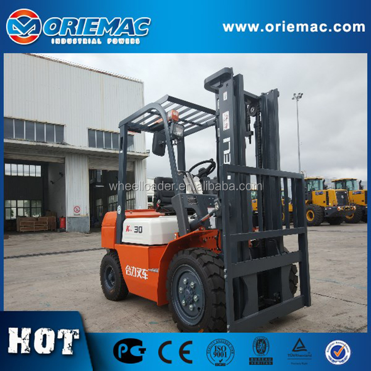 New 2.5 Ton Diesel Heli CPCD25 Cheap Forklift Truck for Sale
