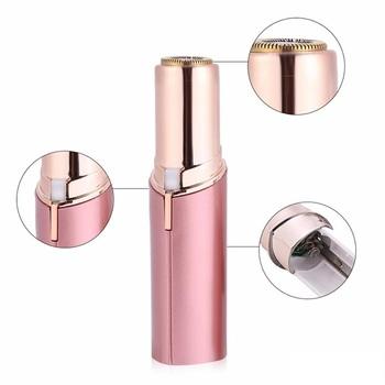 650170703e Women Mini Electric Body Facial Lipstick Shape Shaver Facial Epilator Hair  Trimmer Tool - Buy Electric Hair Removal Painless Lipstick Shaving ...