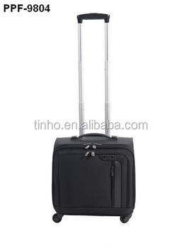 Computer Bag Mobile Office Luggage Four 360 Degree Wheel Trolley With Brake