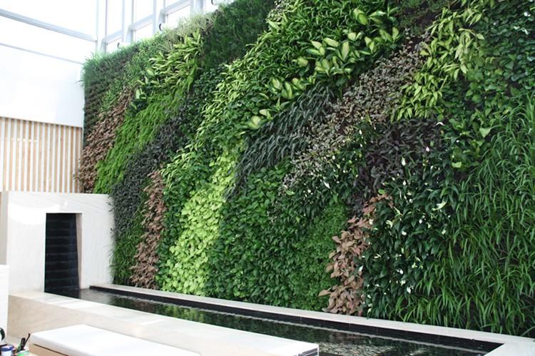 Vertical Garden Green Wall,Vertical Living Plant Wall Artificial ...