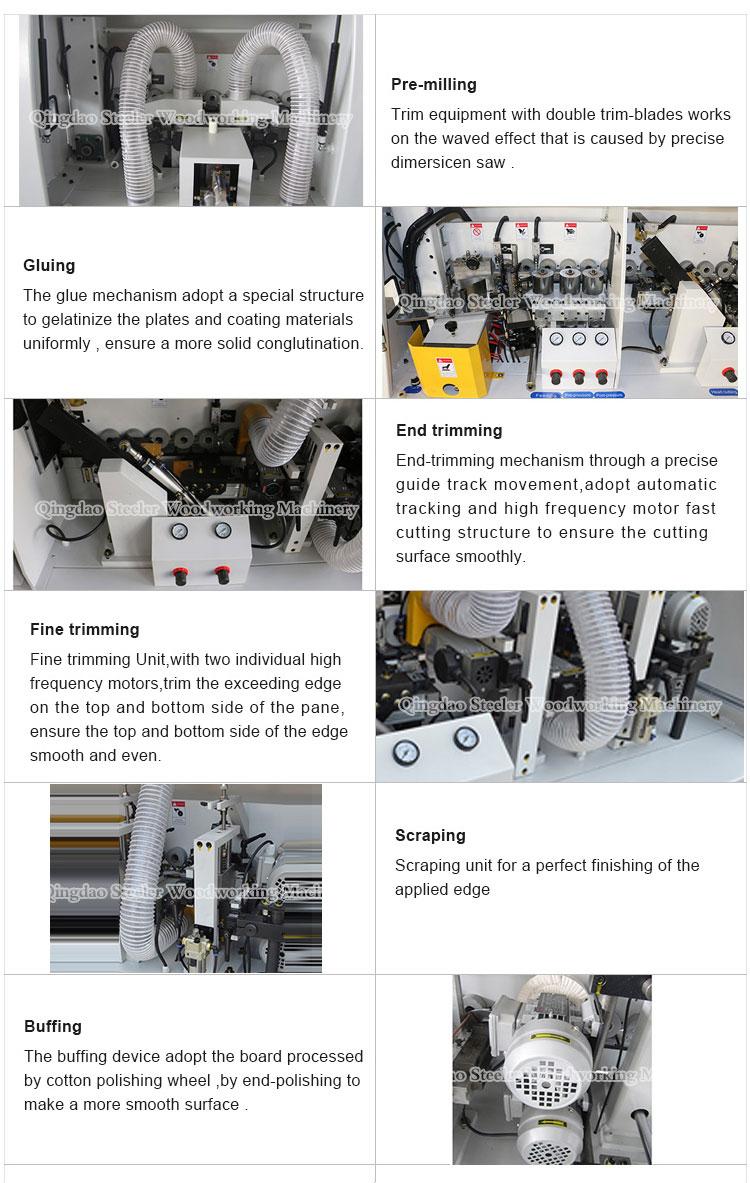 MFZ507 Automatische Rand Trimmen Snijkant Banding Houtbewerking Machine Prijs