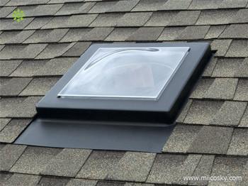 Retractable Skylight Materials Roof Skylight 1200x1200(47.24u0026quot ...